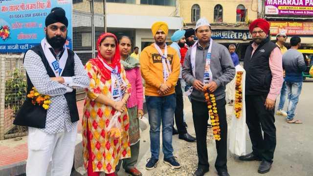 Lucknow, Aam Aadmi Party, MP Sanjay Singh, AAP