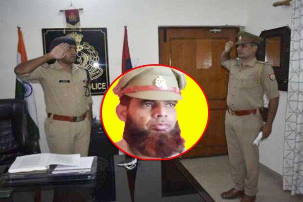 Suspension of Sub Inspector Pratsar Ali, who was dismissed for shaving