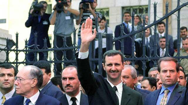 bashar-al-assad-became-the-fourth-president-of-war-torn-syria