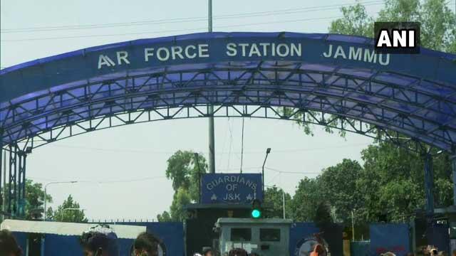 Drone Blast at Jammu airport