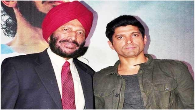 Farhan Akhtar got emotional on the death of Milkha Singh