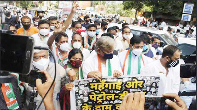 friday-congress-protest-against-bjp-govt-on-petrol-diesel-price-hike