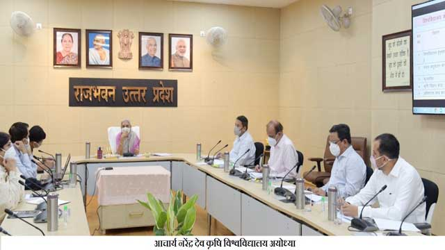 Governor Anandiben Patel instructed to fill academic staff vacant posts in universities