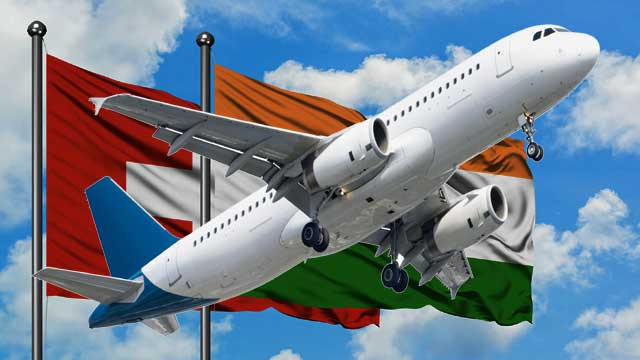 India Switzerland Flights: Air travel between Indo-Switz started, permission given with conditions