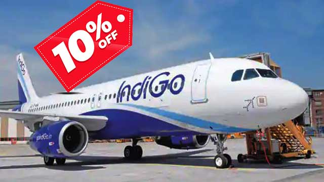 Indigo Offer: 10 percent Off On Tickets after vaccinate, read full details