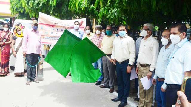Ayodhya DM flag off for