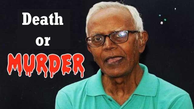 Death or Murder of Father Stan Swamy, blame on BJP govt